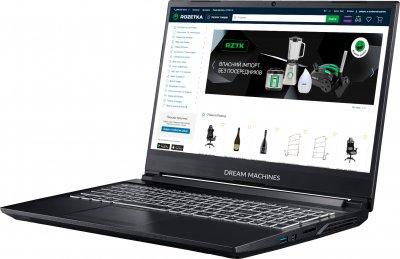 Ноутбук Dream Machines G1650Ti-15 (G1650TI-15UA46) Black
