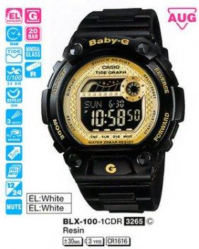 Годинник CASIO BLX-100-1CER