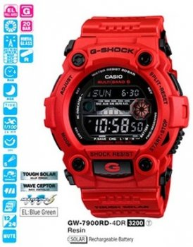 Годинник CASIO GW-7900RD-4ER