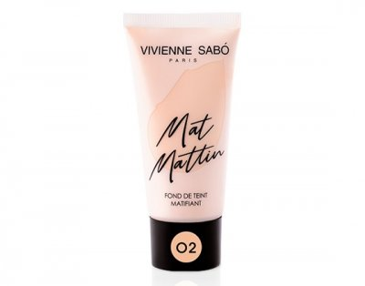 Матирующий тональный крем Vivienne Sabo Mat Mattin 02