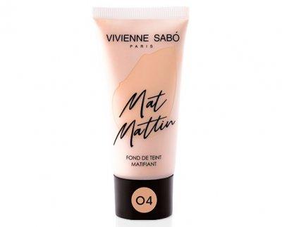 Матирующий тональный крем Vivienne Sabo Mat Mattin 04