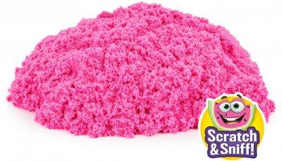 Пісок для дитячої творчості Kinetic Sand Colour з ароматом Кавуновий вибух (71473W)