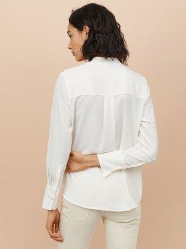 Блузка H&M 0739953-9 Белая