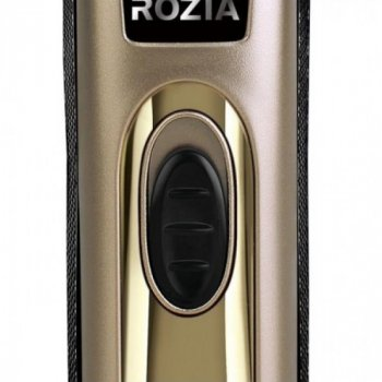 Бездротова професійна машинка триммер для стрижки GoVern HQ233 (Rozia) для волосся, бороди Gold