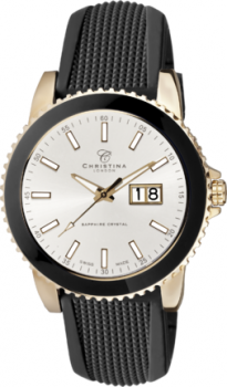 Годинник CHRISTINA 519GS-SIL-Gblack