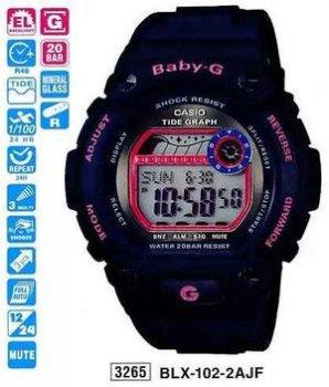 Годинник CASIO BLX-102-2AER