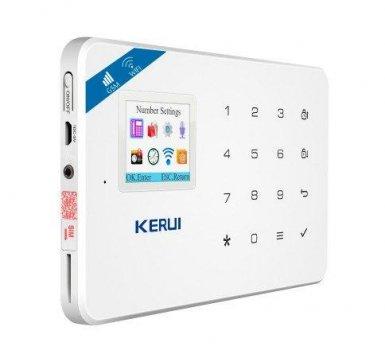 Комплект беспроводной gsm WiFi сигнализации для 1-комнатной квартиры Kerui W18