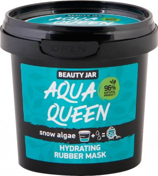 Альгинатная маска для лица Beauty Jar Aqua Queen увлажняющая 20 г (4751030832128)