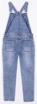 Напівкомбінезон джинсовий Coccodrillo Self Love First WC1118101SEL-014 Блакитний