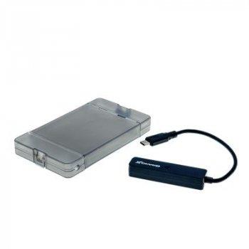 """Карман зовнішній Grand-X HDD 2,5"""" USB 3.1 Type-C (HDE31)"""