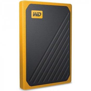 """Зовнішній жорсткий диск 2.5"""" 2TB My Passport Go WD (WDBMCG0020BYT-WESN)"""