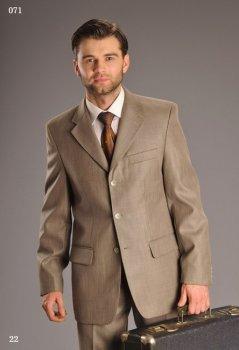 Мужской костюм West-Fashion 071хаки 176