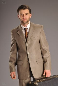 Чоловічий костюм West-Fashion 071 хакі 176