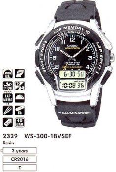 Годинник CASIO WS-300-1BVSES