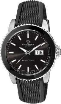 Годинник CHRISTINA 519SBL-SIL-Sblack