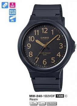 Годинник CASIO MW-240-1B2VDF