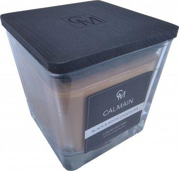 Ароматична свічка Calmain 430 г Чорний і білий шоколад (kI6286)