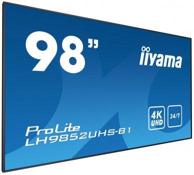 МонІтор Iiyama Prolite Lh9852Uhs-B1 (98'') Czarny