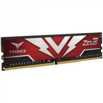 Модуль пам'яті для комп'ютера DDR4 16GB 3200 MHz T-Force Zeus Red Team (TTZD416G3200HC2001)