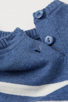 Джемпер H&M 0813609 1 Синій