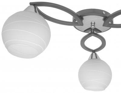 Люстра Brille LK-605S/3 E27 BK (23-236)