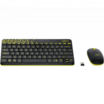 Комплект Logitech Wireless Combo MK240 Ru Black (920-008213)
