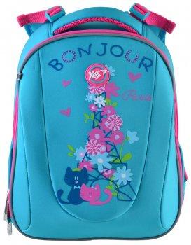 Рюкзак шкільний каркасний Yes H-28 Bonjour для дівчаток 0.95 кг 29х36х20 см 20.5 л (557734)