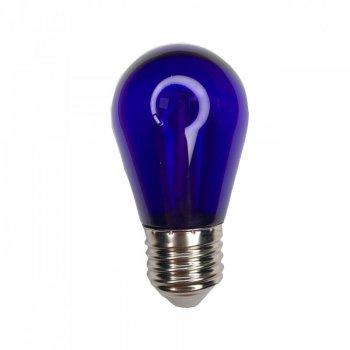 "Лампа світлодіодна E27 1W S14 230V фіолетова ""LEMANSO"" LM3078"