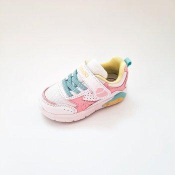 Кросівки ТМ Biki для дівчинки білі (арт.340821)