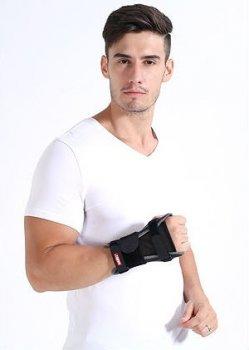 Бандаж на лучезапястный сустав AOLIKES с защитой от скручивания с металлической опорой 01456