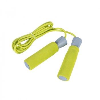 Скакалка швидкісна LiveUp Foam Handle Jump Rope, код: LS3118