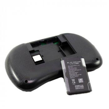 Беспроводная мини клавиатура Rii mini i8 + тачпад c RGB-подсветкой и АКБ