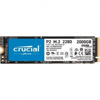 Накопичувач SSD M. 2 2280 2TB MICRON (CT2000P2SSD8)