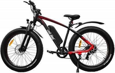 Электровелосипед Like.Bike Bruiser (red/grey)