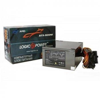 Блок питания LogicPower 500W FAN 12cm 4xSATA ATX Bulk