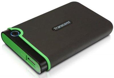"Жорсткий диск HDD ext 2.5"" 500Gb USB Transcend StoreJet 25M3S Iron Gray (TS500GSJ25M3S)"
