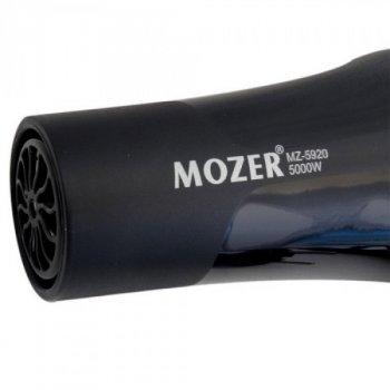 Компактный фен для волос Mozer MZ-5920 5000 Ватт черный
