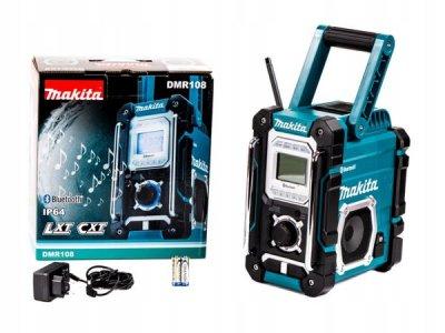 Радіоприймач акумуляторний з функцією Bluetooth Makita DMR108 (без акумулятора та ЗУ)