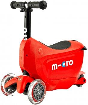 Самокат Micro Mini 2Go Deluxe Plus Red (MMD032) (7640108563316)