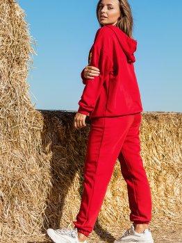 Спортивний костюм Leo Pride Роксі KR3211 Червоний