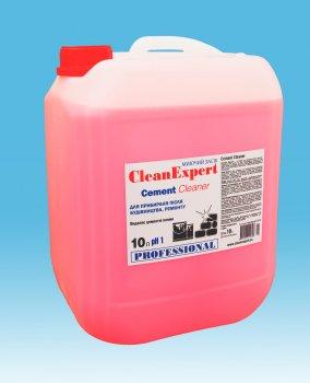 Засіб Clean Expert для видалення цементного нальоту і глибокого очищення плитки Cement Cleaner 10 л