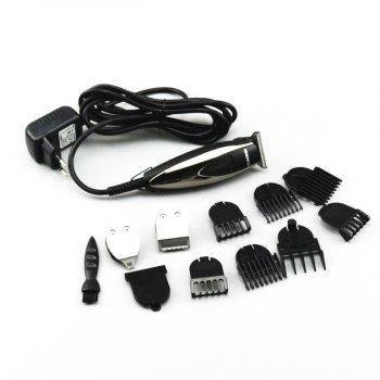 Профессиональная машинка для стрижки волос Gemei GM 830 Pro машинка для барберов с триммером для рисунка и окантовки
