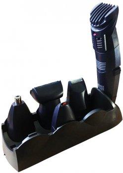 Набор для стрижки волос стайлер 5 в 1 Gemei GM-591 New машинка для стрижки , электробритва, триммер для бороды носа ушей