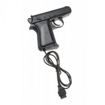 Игровая приставка с пистолетом Unit Dendy Х Original и 255 встроенных игр, Черный