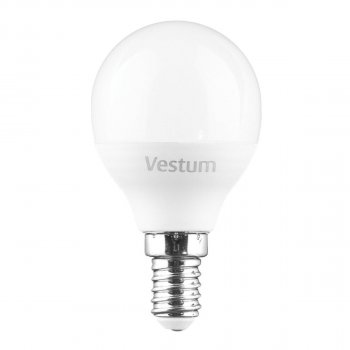 Лампа світлодіодна Vestum LED G45 6W 4100K 220V E14