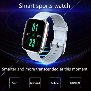 Смарт годинник Розумні годинник Smart Sport Watch S68 Pro Тонометр Зброс дзвінка Grey