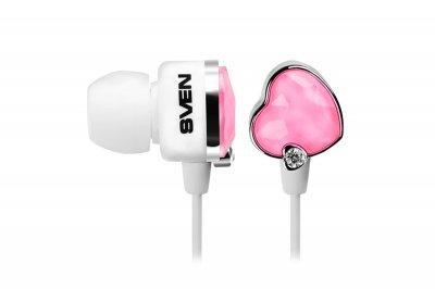 Навушники Sven SEB-150 Glamour White and Pink (850133)