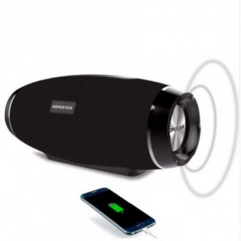 Портативна Bluetooth колонка Hopestar H27 Stereo Black 10 Вт (00530)