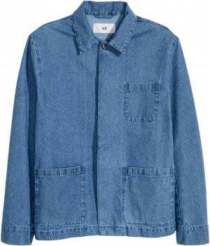 Джинсовая куртка H&M 3412303-ACXD Синяя