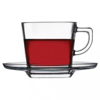 Чашка с блюдцем для чая 210 мл 12 предметов Baltic Pasabahce 95307